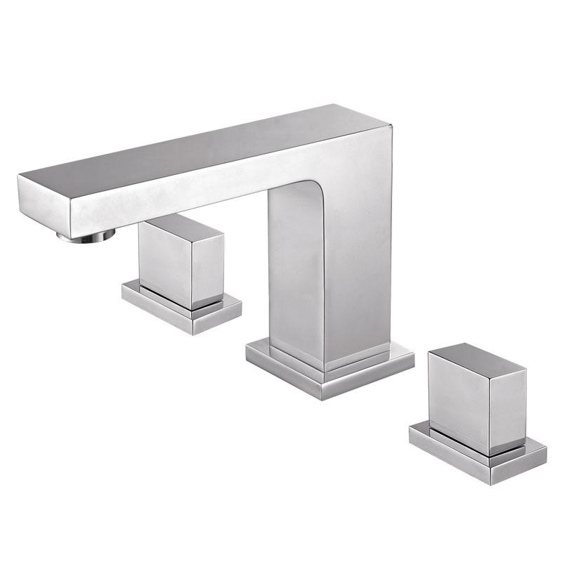115045方形台式三孔浴缸龙头