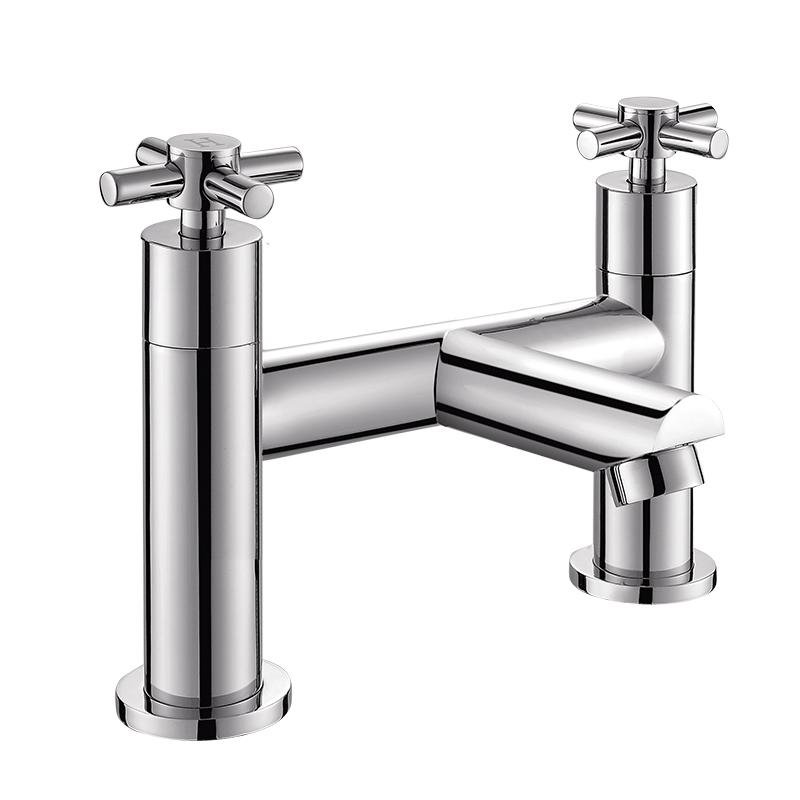 154005 圆形两孔七寸浴缸单出水龙头